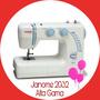 Janome 2032 Alta Gama 36 Funciones Garantía Of. Envio Gratis
