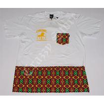 Camiseta Chronic 420 Reggae Roots Jah Bless Crazzy Store