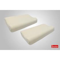 2 Almohadas Memory Foam Cervicales. Promoción!