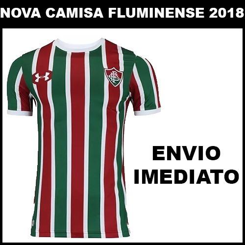 bf27948ffd Nova Camisa Fluminense 2018 Original Torcedor - Promoção - R  56