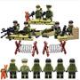 Exercito Americano Segunda Guerra Mundial Lego Compatível