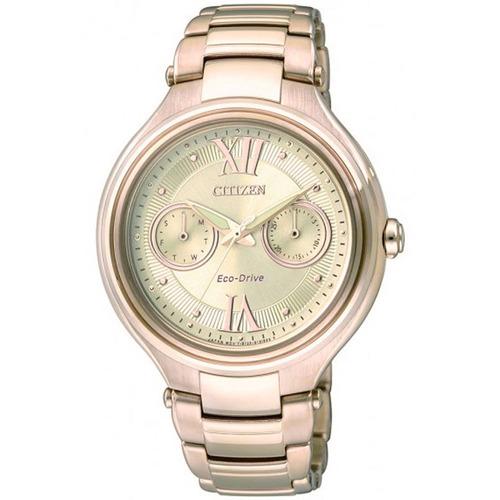 b290e136bb3 Relógio Feminino Analógico Citizen Tz28235g - Dourado - R  1.091