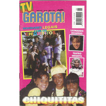 Revista Tv Garota - Número 5 - Chiquititas 1997 - Ed. Sampa