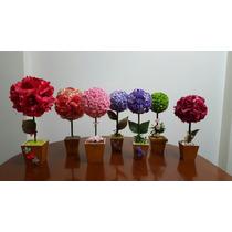 Topiarios De Rosas Perfumadas Para San Valentin