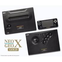 Neogeo X Gold Edição Limitada 3 In 1 - Importado