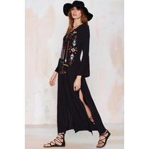 Vestido Hippie Vintage