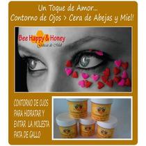 Contorno De Ojos Cera De Abejas - Miel - Vitamina C