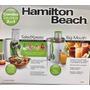 Procesador De Alimentos Y Extractor De Jugos Hamilton Beach