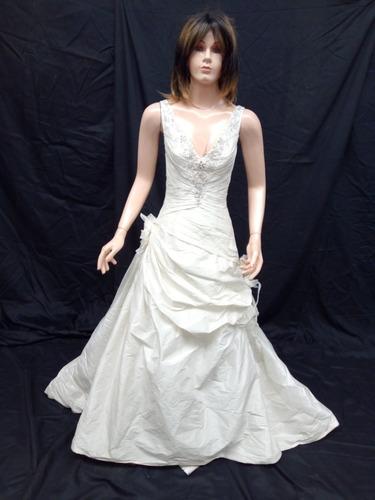 vestido de novia essenzia española 2752 (51) - $ 4,632.00 en mercado