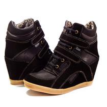 Zapatillas Sneaker Cuero Vacuno Taco Escondido Ciro Art620