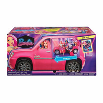 Barbie Campamento Limusina Pop Pelicula Mattel Nueva