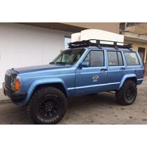Jeep Grand Cheroke 1989 Azul 4 Puertas