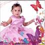 Hermosos Vestidos De Fiesta Para Niñas Bebés Bautizos Cumple