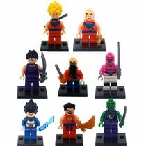 Bonecos Compatível Lego Dragon Ball Z Kit Com 8 Peças