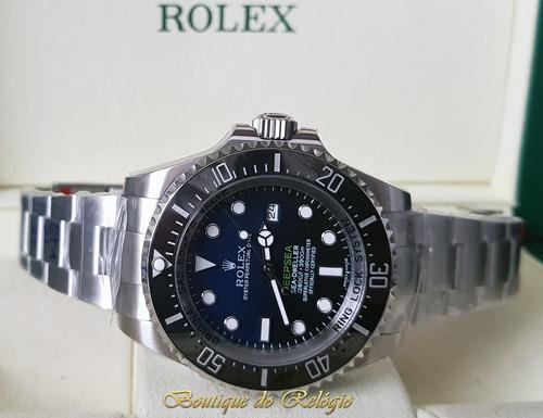 6483510f7e9 Relógio Eta - Mod Deepsea D-blue - Noob Best V7 Sa3135 - R  3.099