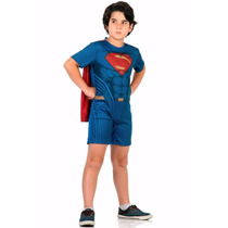 Fantasia Super Homem Infantil Sulamericana Original