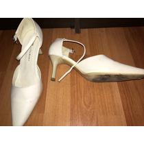 Zapatos Blanco Invierno Número 37