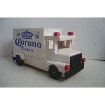 Camion Cerveza Corona - Camioncito De Madera - Camion Escala