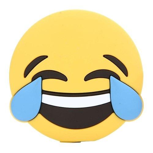 Carregador Portatil Bateria Extra Emoji Emoticon Risada