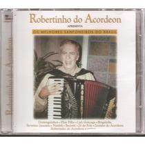 Cd - Robertinho Do Acordeon