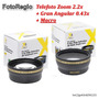 Kit Lentes Hd Para 52mm Nikon D7000 D7100 D7200 18-55mm