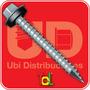 Autoperforante Tel-hex Chapa-madera 14 X 2 1/2 Pack X 1080u