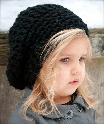 Gorro Caido Mujer Niños Lana Tejido Crochet Artesanal -   558 251b1324d9c