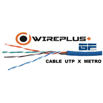 Cable Utp Cat 5e Por Metro Marca Wireplus Testeado