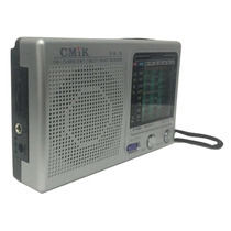 Radio Fm/tv/am/receptor 3 Bandas Rádio A Pilha