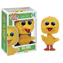 Funko Pop Big Bird Plaza Sesamo Sesame Coleccionable Nuevo