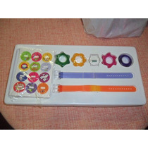 Antigo Kit Relógio Infantil Digital Troca Pulseiras