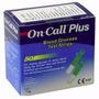 Tiras Testes De Glicemia Oncall Plus + Aparelho