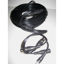 Rollo Cable Hd Siames 20mts Para Camara Cctv .video Voltaje