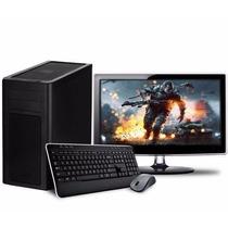 Pc Gamer Amd 8gb 1tb Placa De Video Con Monitor 19