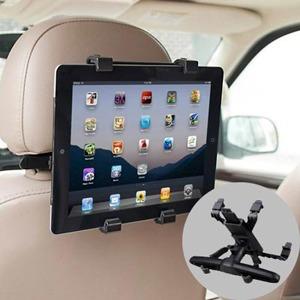 Soporte auto tablet dvd ipad ajustable hasta 10 1 pulgadas for Soporte tablet pared