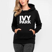 Blusa Moleton Canguru Com Bolso Ivy Park Beyoncé Fashion