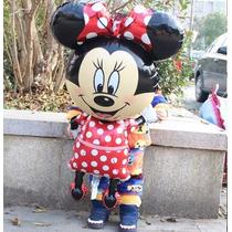 2x1 Globo Minnie Y Mickey Cuerpo Completo,mimi Mouse.