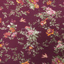 Flores Vino Tinto-Verde (Viscosa)
