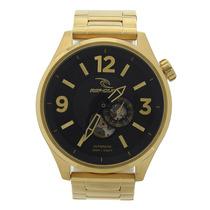 Relógio Masculino Rip Curl Titan Xl Automatic Sss Dourado