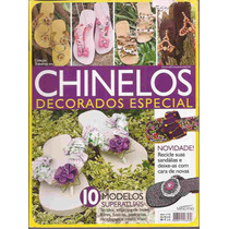 Artesanato - Chinelos Decorados Especial Nº 02