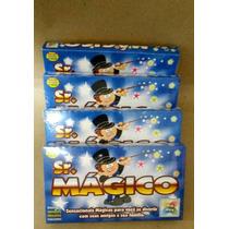 4 Kit De Mágica Sr.mágico Caixa De Mágica Infantil Lembrança