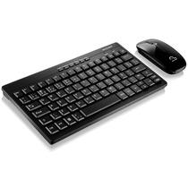 Teclado E Mouse Mini Sem Fio Pc Smart Tv Multilaser C184