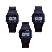 Pack 3 Reloj Digital Retro Negro / Rebajas