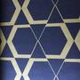 390408 -  Geométrico (Dourado/ Preto)