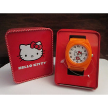 Lindo Reloj Marca Hello Kitty