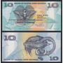 Papua Nueva Guinea 10 Kina Año 1998 Sin Circular Fauna