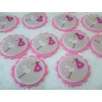 Adornos Topper P/ Tortas Cupcakes Bautismo Nacim Baby Shower