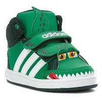 Zapatilla Botita Adidas Hoop Animal Mid Bb