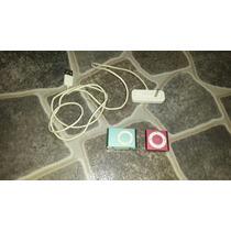 Dos Ipod Shuffle + Base Cargadora A Revisar.