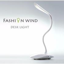 Luminária Mesa Led Recarregável S/ Fio Touch Abajur Flexivel